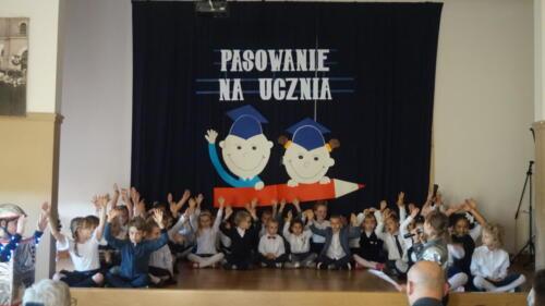 Pasowanie na ucznia 2021/2022